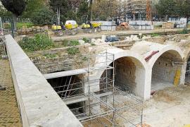 Immer mehr Reste der Stadtmauer von Palma de Mallorca tauchen auf