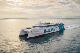Riesige neue Schnellfähre von Baleària kommt am Wochenende nach Mallorca