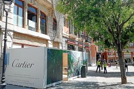 Cartier zieht an den Rathausplatz nach Palma um