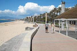 Liegen an der Playa de Palma noch immer nicht aufgestellt