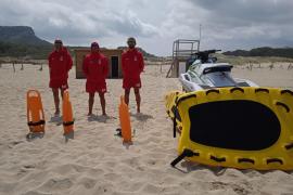 Rettungsschwimmer überwachen Maskenpflicht an Rajada-Stränden und Playa de Palma