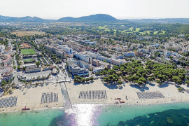 Okupa stürzt von Hotelbalkon in Urlauberort auf Mallorca