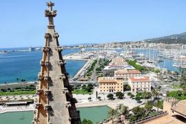 Kathedrale von Mallorca öffnet wieder ihre Dachterrassen für Besucher