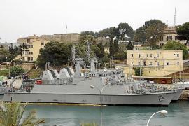 Die Manöver in den balearischen Gewässern dauern bis zum 7. Mai.