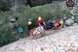 Gleich zwei Motorradfahrer auf Mallorca in die Tiefe gestürzt