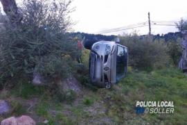 Fünf Schwerverletzte bei zwei Autounfällen auf Mallorca