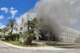Explosion in Hotel an der Playa de Muro