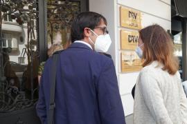 So trat Mallorca-Ministerpräsidentin Armengol vor Journalisten in Berlin auf