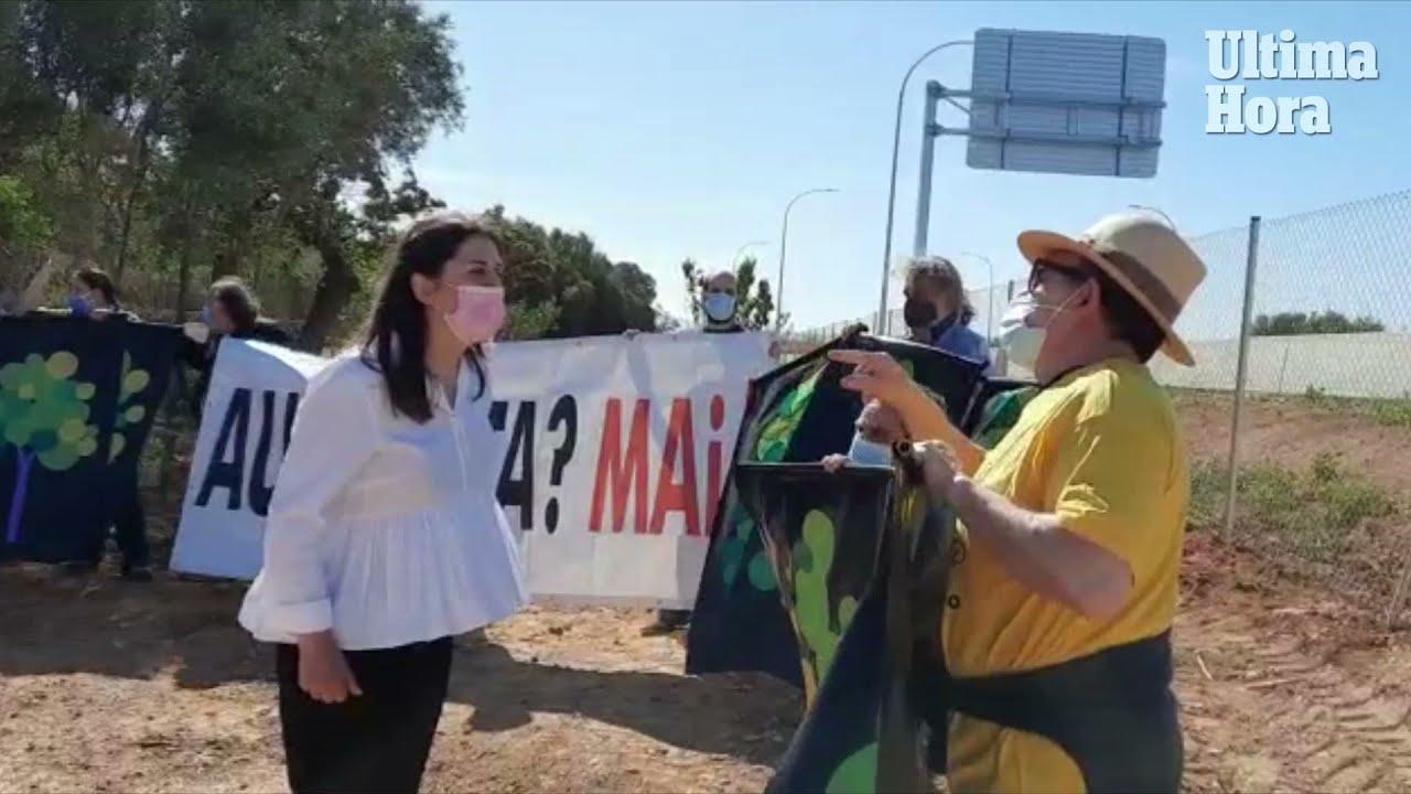 Unschöne Szenen bei Einweihung von zweispuriger Schnellstraße auf Mallorca
