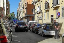Schießerei mitten auf der Straße in Palma-Viertel