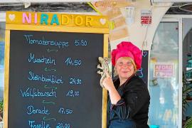 Nicole Stange war lange Küchenchefin im La Vida in Peguera. Jetzt hat sie im Ort ihr eigenes Restaurant, das Nirad'or.