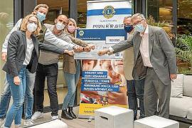 Rekordspende in Höhe von 100.000 Euro für Lions-Club-Aktion auf Mallorca