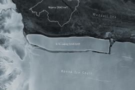 Mallorca und der Eisberg: Wie die Insel in die Antarktis geriet
