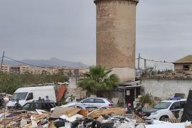 Illegale Müllkippe in Palma de Mallorca von Gitano-Clan betrieben