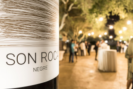 Dieser kraftvolle Rotwein aus der Traubensorte Syrah hat neun Monate im Eichenfass reifen können.