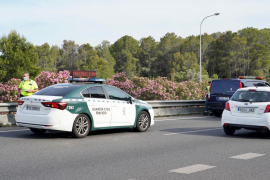 Gegen Leitplanke geprallt: Motorradfahrer stirbt auf Palmas Vía de Cintura