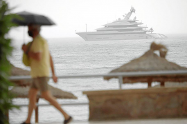 """Megayacht """"Avantage"""" legt Zwischenstopp vor Palma ein"""