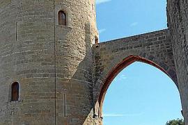 Wegen Rissen in der Mauer: Castell de Bellver wird ausgebessert