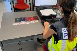 Fünf Passagiere mit falschen Pässen im Flughafen von Mallorca festgenommen