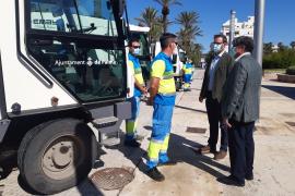 Stadtwerke Emaya wollen ab Juni für mehr Sauberkeit an der Playa de Palma sorgen