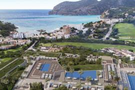 Neues Luxushotel mit 13 Pools auf Mallorca vor der Eröffnung