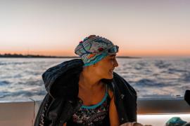 Deutsche Extremschwimmerin bezwingt Meerenge zwischen Menorca und Mallorca in Rekordzeit