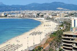Mehr als die Hälfte der Hotels an der Playa de Palma sind schon geöffnet
