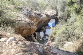 Okupas besetzen Höhlen in gutbürgerlichem Wohngebiet auf Mallorca