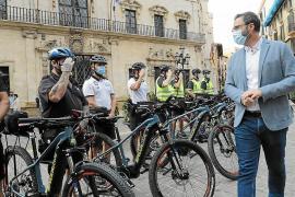 Dieb stiehlt E-Bike der Polizei in Palma