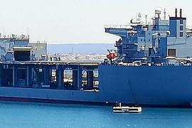 """Die USS Hershel """"Woody"""" Williams zu Gast in Palma"""