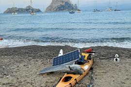Ingenieur umrundet Balearen mit einem Solarkajak