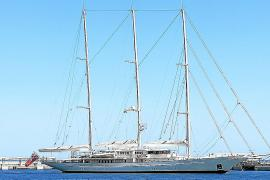 Die Segelyacht Athena besucht Mallorca