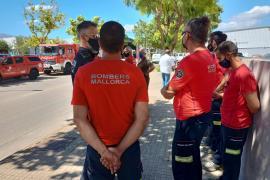 Brand bricht auf Reiterhof in Andratx aus