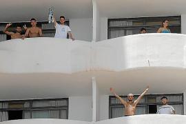 Abiturienten hinterlassen Sachschäden in Corona-Hotel in Palma de Mallorca
