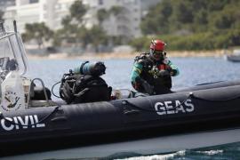 Die Guardia Civil barg den Toten.