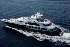 Leonardo DiCaprio tourt auf Mietyacht vor Mallorca und Ibiza