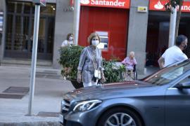 Altkönigin Sofía tritt Sommerurlaub auf Mallorca an