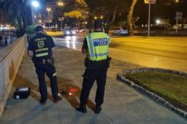 """Polizei auf Mallorca setzt erstmals """"Luftwaffe"""" gegen Trinkgelage ein"""