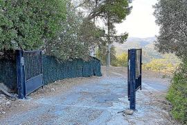 Absperrzaun an bekanntem Aussichtspunkt auf Mallorca errichtet