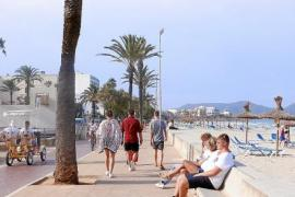 Die Promenade wurde in den Wintermonaten zur Freude der Gäste auf Vordermann gebracht.