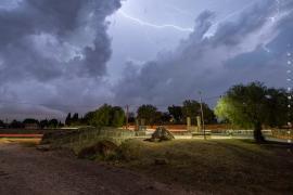 Mallorca erlebt eine Nacht mit vielen Blitzen