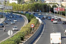 Weniger Verkehrsunfälle auf Palmas Ringautobahn
