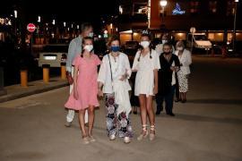 Spanische Königsfamilie besucht Palmas Meeresviertel Portitxol