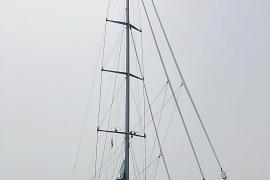 Größte Einmastyacht der Welt legt im Hafen von Palma an