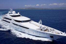 Luxusyacht der Herrscherfamilie von Katar vor Mallorca gesichtet