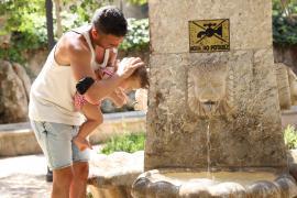 41 Grad in Sa Pobla auf Mallorca gemessen