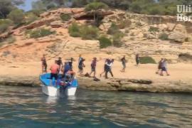 Kapitän von Flüchtlingsboot in Portals Vells festgenommen