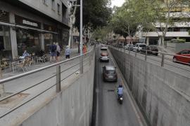 Nuredduna-Tunnel in Palma wegen Bauarbeiten gesperrt
