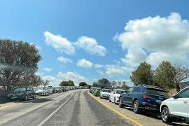 Zu wenig Parkplätze an der Cala Varques