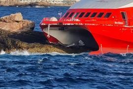 Deutsche Reederei FRS muss Unfallfähre schnell wieder flott machen
